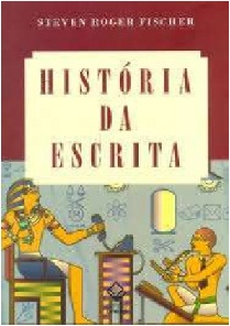 Capa do livro História da escrita