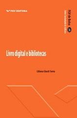 """Capa da obra """"Livro digital e bibliotecas"""""""