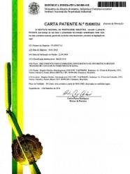 Exemplo de Carta de Patente concedida pelo Brasil