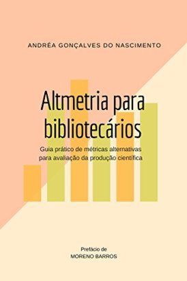 Capa do livro Altmetria para bibliotecários