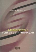 """Capa do livro """"Ambientes e fluxos de informação"""""""